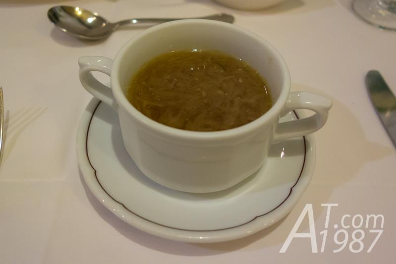 TRASTEVERE Taipei -Zuppa di Cipolla