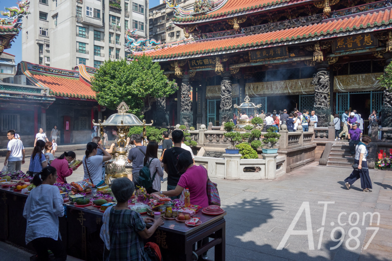 Longshan Temple – Fore Hall