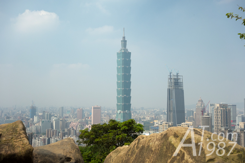 Taipei 101 from Xiangshan Hiking Trail