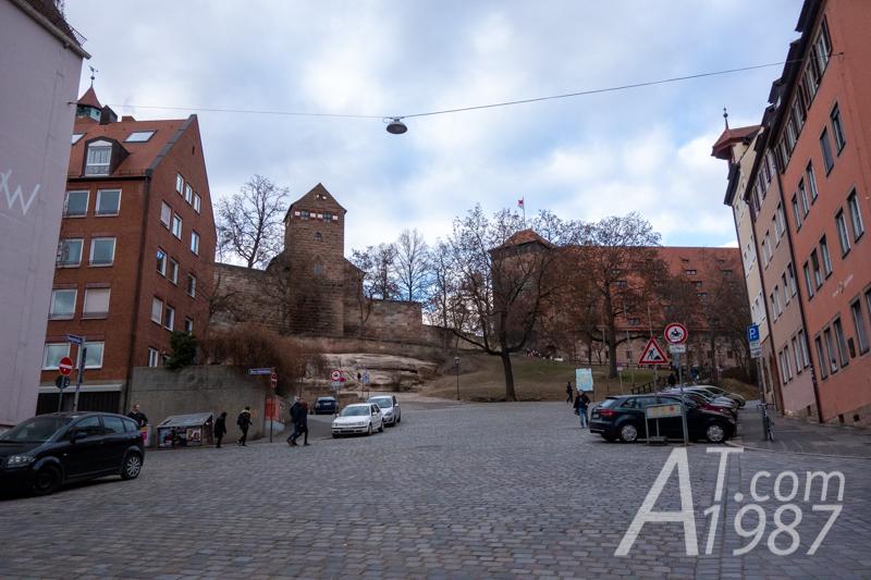 Imperial Castle Nuremberg – Burgstraße