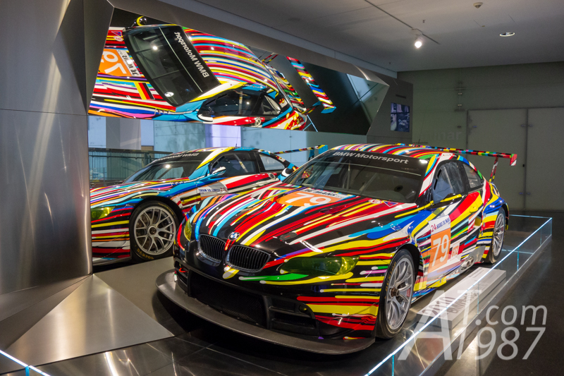 BMW Art Cars #17 by Jeff Koons