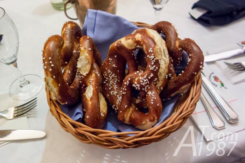 Pretzels at Zum Franziskaner