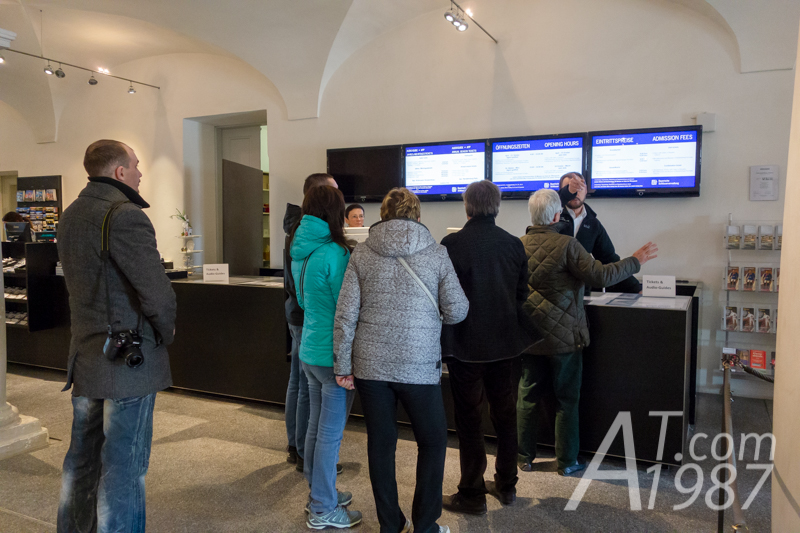Nymphenburg Palace – Ticket Office