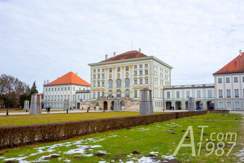 Nymphenburg Palace – Garden Side
